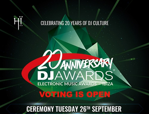DJ Awards 2017 nominados