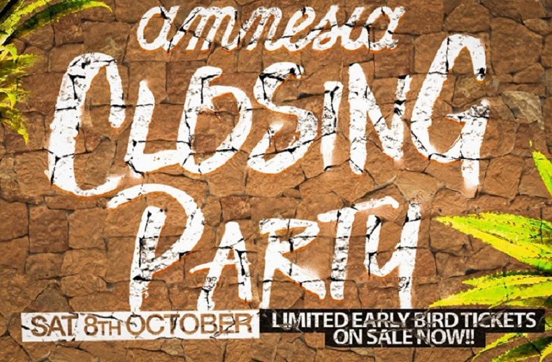 Amnesia Closing Party