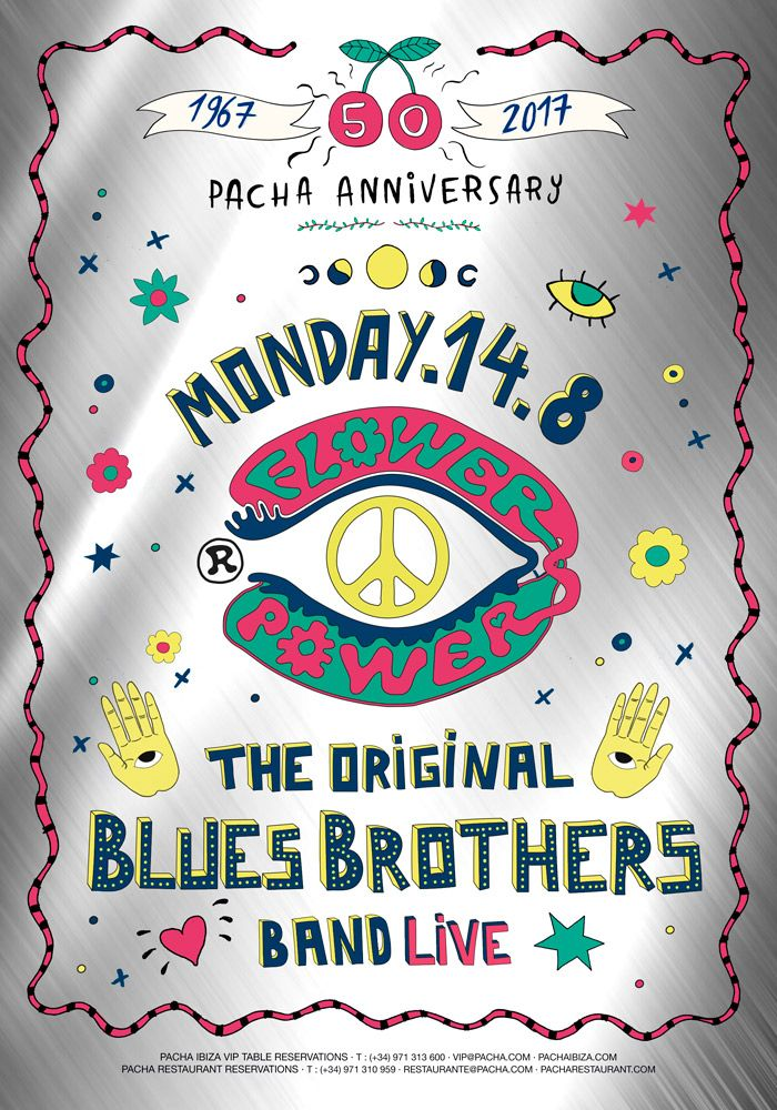 Flower Power presenta The Blues Brothers Band