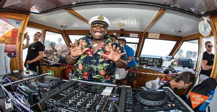 Float Your Boat con Carl Cox