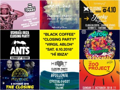 Ibiza Closings 2018