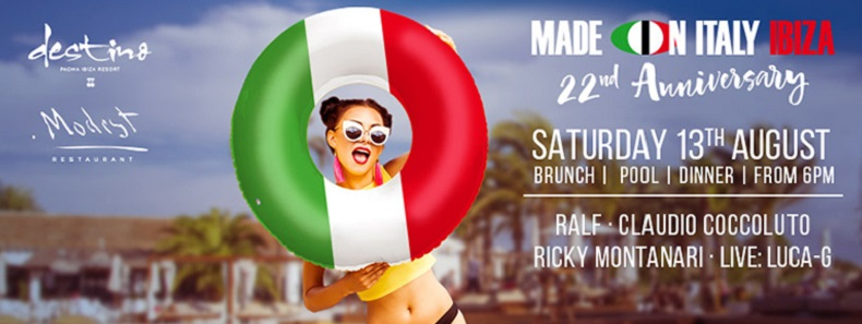 22ª Aniversario Made in Italy