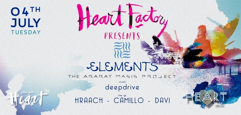 Heart Factory presenta Elements