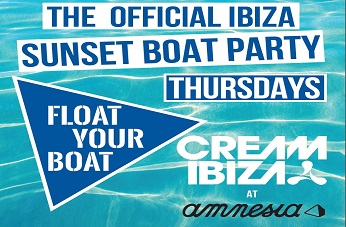 Float Your Boat presenta Cream Boat Party