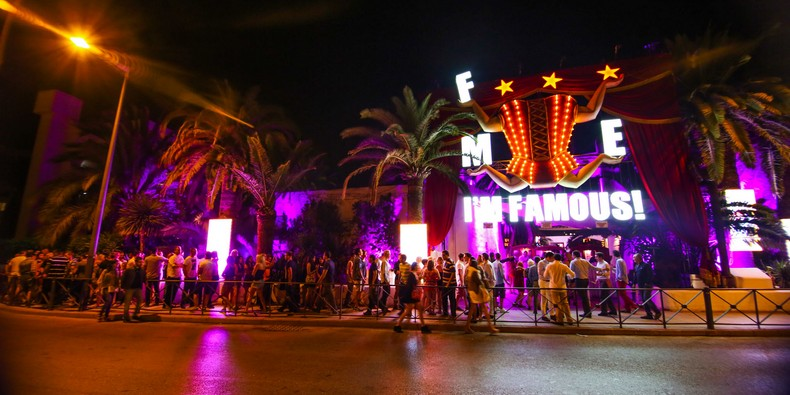 Fuck Me I'm famous Pacha exterior
