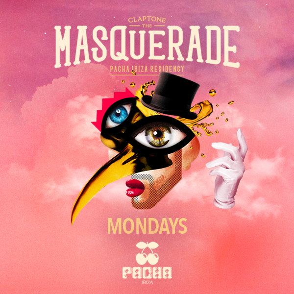 The Masquerade by Claptone Pacha Ibiza