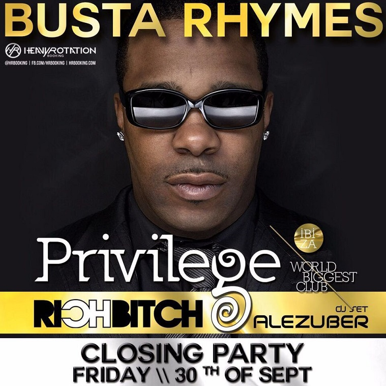 Privilege Ibiza IAMARICHBITCH Closing Party