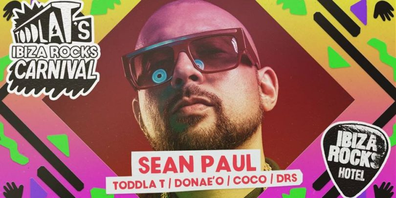 Sean Paul Ibiza Rocks