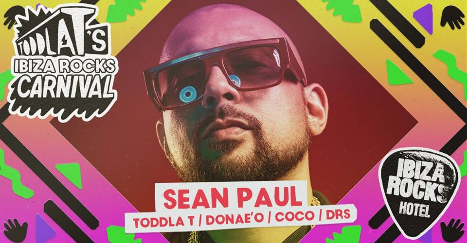Sean Paul visita Ibiza Rocks