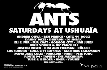 Ants. Welcome to the Ibiza Colony 2015