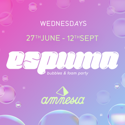 Espuma Bubbles & Foam Party