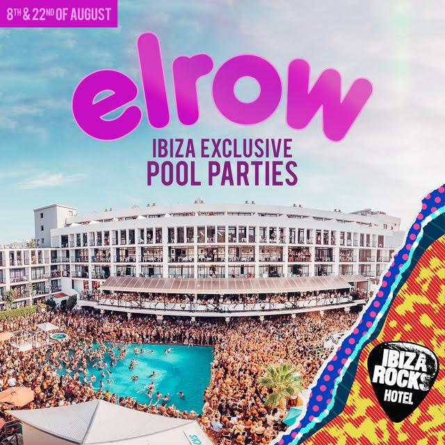 Elrow pool parties en Ibiza Rocks este verano